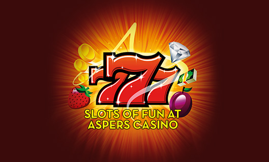 Come and play slots the Aspers Way